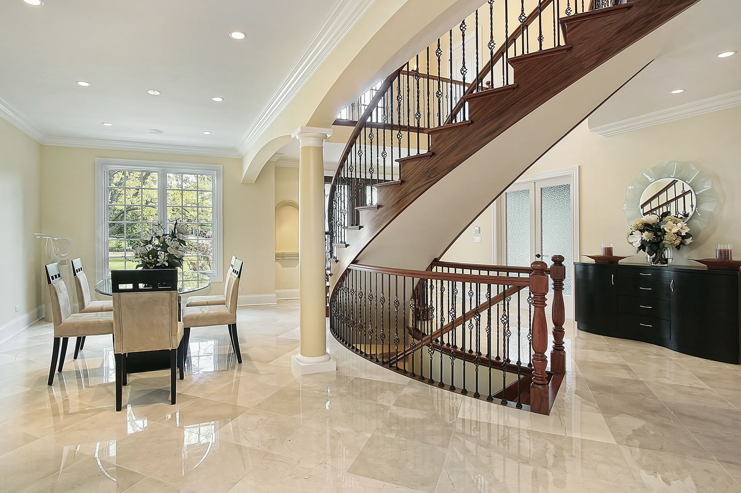 Natural Stone Cleaning - Pacific Carpet Care