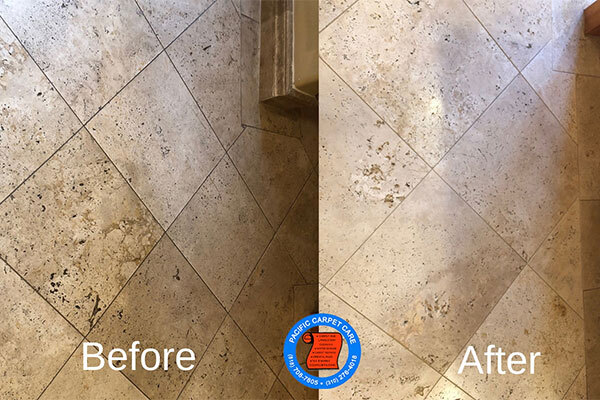 Encino tile & grout cleaning is provided by Pacific Carpet Care.