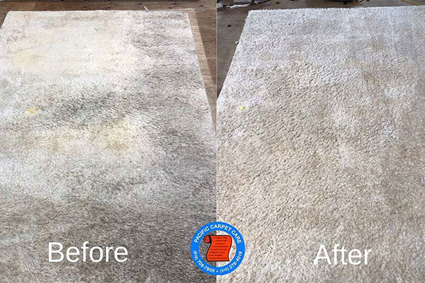 Rug cleaning in Brentwood is provided by Pacific Carpet Care.